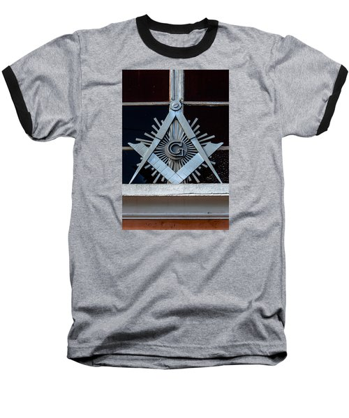 Square And Compass Baseball T-Shirt