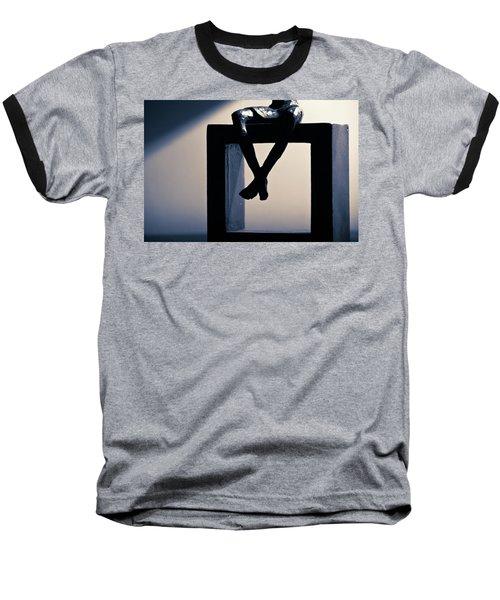 Square Foot Baseball T-Shirt by David Sutton