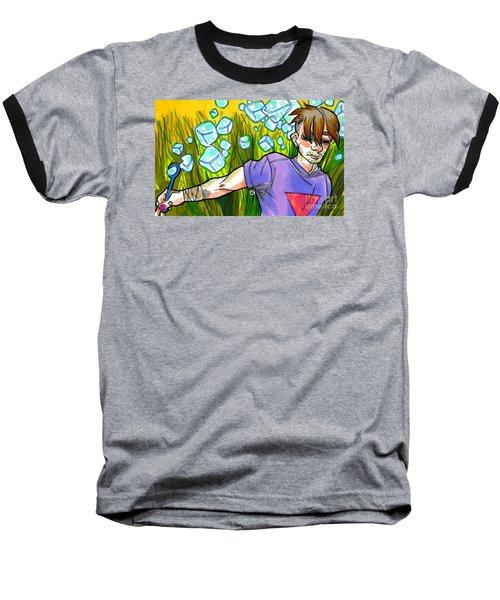 Square Peg Baseball T-Shirt