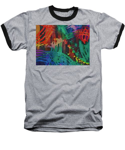 Squares And Other Shapes 2 Baseball T-Shirt