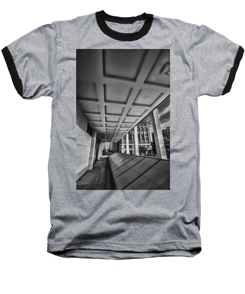 Squares Of Architecture   Baseball T-Shirt