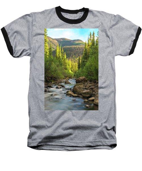 Squaw Creek, Colorado #2 Baseball T-Shirt