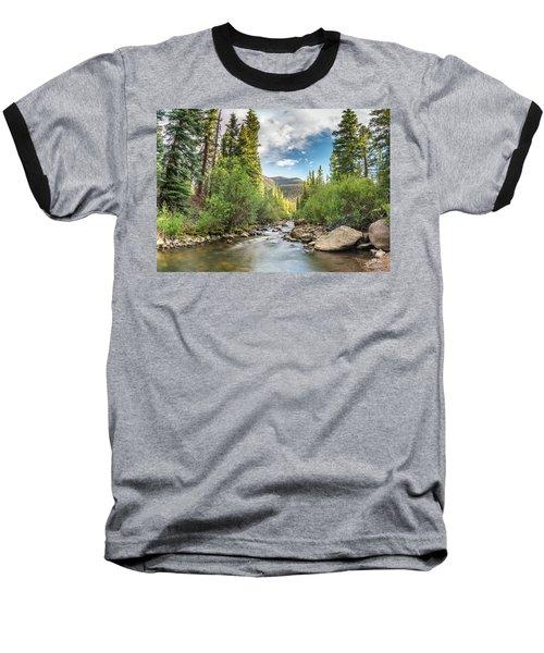 Squaw Creek, Colorado Baseball T-Shirt
