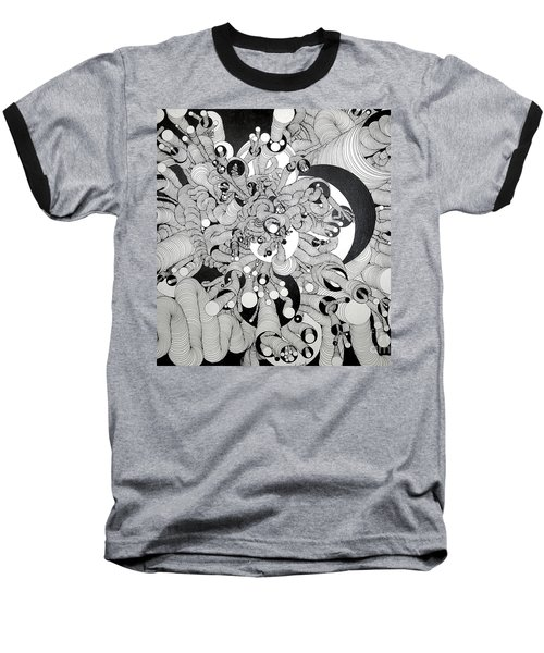 Squiggle Art By Amy Baseball T-Shirt