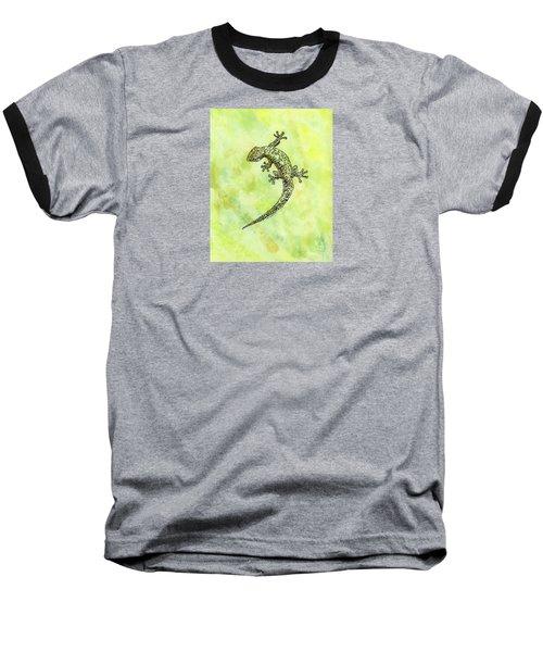 Squiggle Gecko Baseball T-Shirt