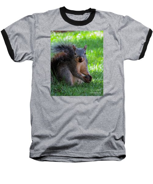 Squirrel 2 Baseball T-Shirt