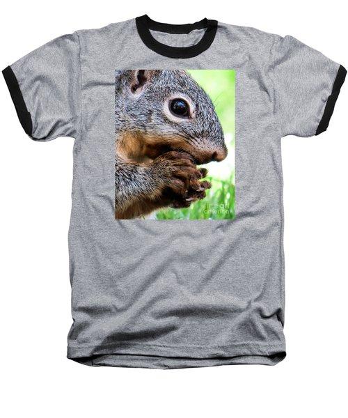 Squirrel 3 Baseball T-Shirt