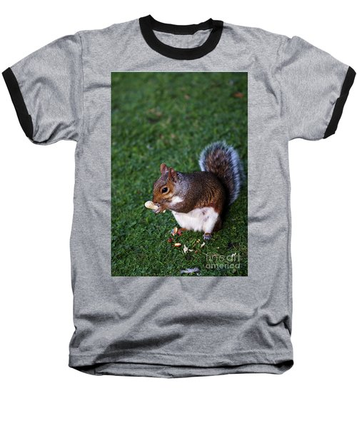 Squirrel Eating Baseball T-Shirt