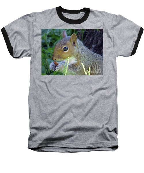 Squirrel Eating Baseball T-Shirt