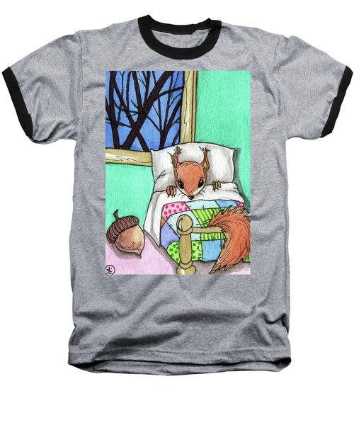 Squirrel House Baseball T-Shirt