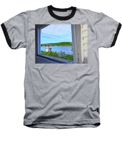 Squirrel Point View From The Deck Baseball T-Shirt