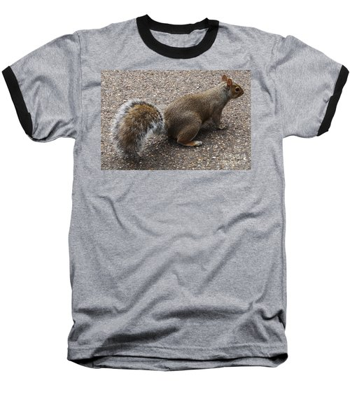 Squirrel Side Baseball T-Shirt