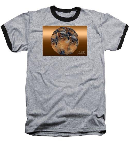 Squirrels In A Ball No. 2 Baseball T-Shirt