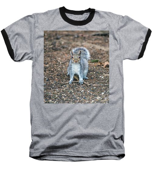 Squriel Full Face Baseball T-Shirt