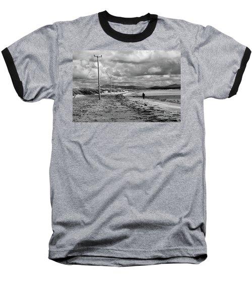 Srah Beach Belmullet Baseball T-Shirt