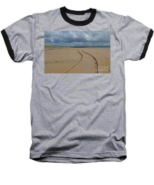 Srah Beach Claggan Island Baseball T-Shirt