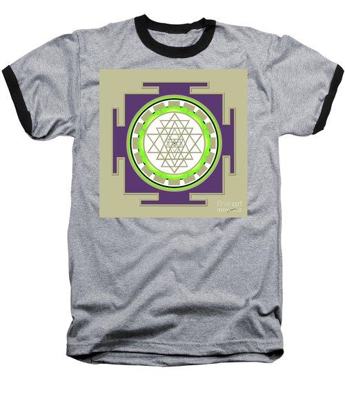 Sri Yantra Of Prosperity Baseball T-Shirt