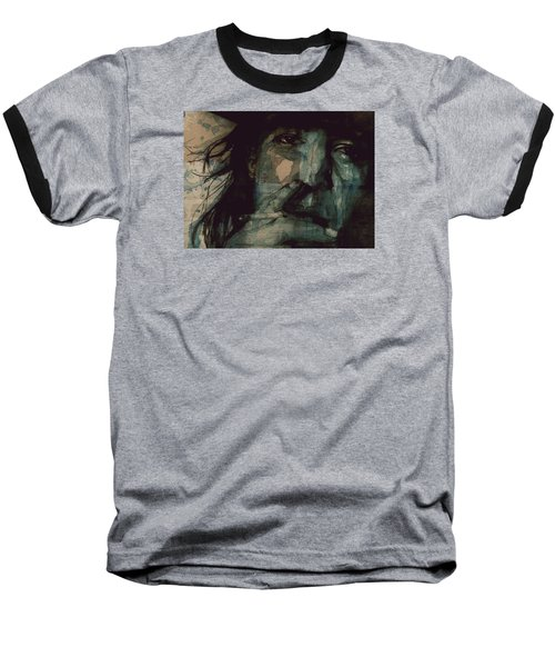 Baseball T-Shirt featuring the painting SRV by Paul Lovering