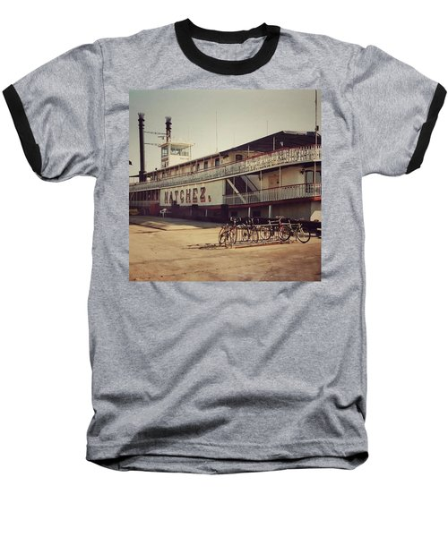 Ss Natchez, New Orleans, October 1993 Baseball T-Shirt