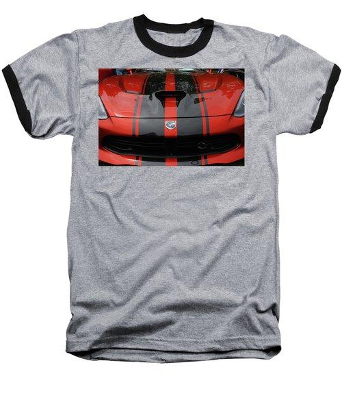 Baseball T-Shirt featuring the photograph Sssss by John Schneider