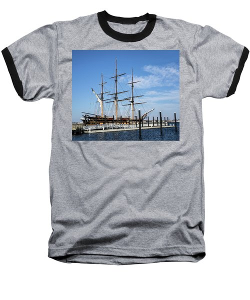 Baseball T-Shirt featuring the photograph Ssv Oliver Hazard Perry by Nancy De Flon