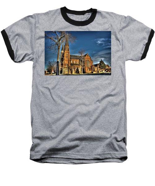 St. Annes Detroit Mi Baseball T-Shirt by Nicholas  Grunas