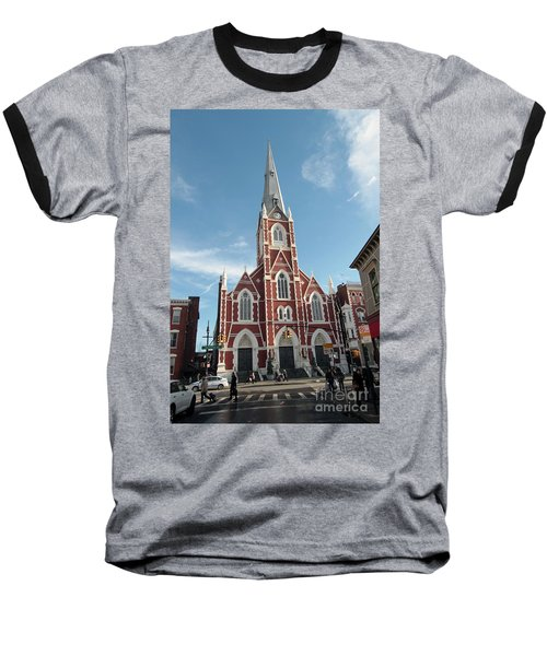 St Anthony Of Padua Church Baseball T-Shirt