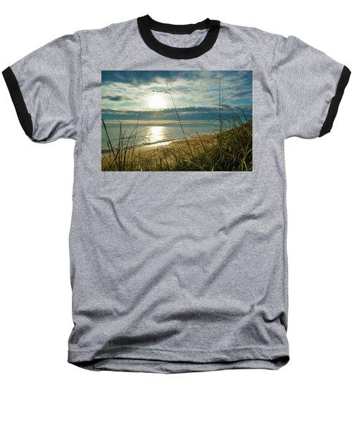 St Aug Sunrise Baseball T-Shirt