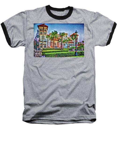 St. Augustine Downtown Christmas Baseball T-Shirt
