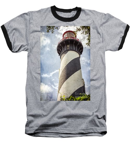 St. Augustine Lighthouse Baseball T-Shirt