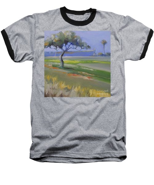 St. Augustine Spanish Castillo Baseball T-Shirt by Mary Hubley