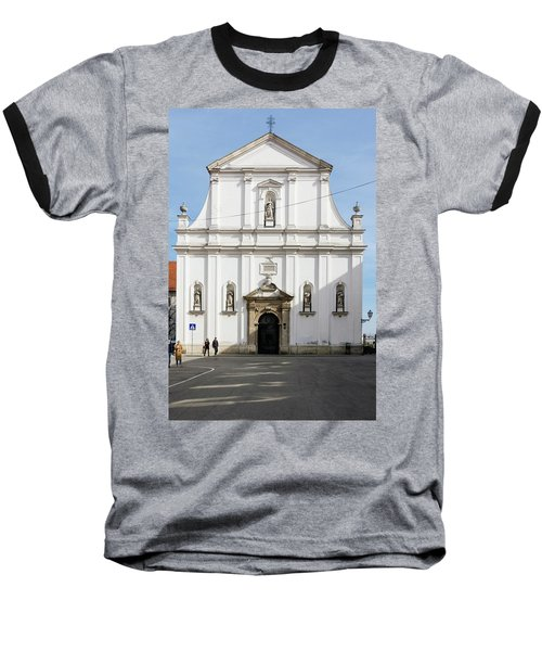 St. Catherine's Church Baseball T-Shirt by Steven Richman