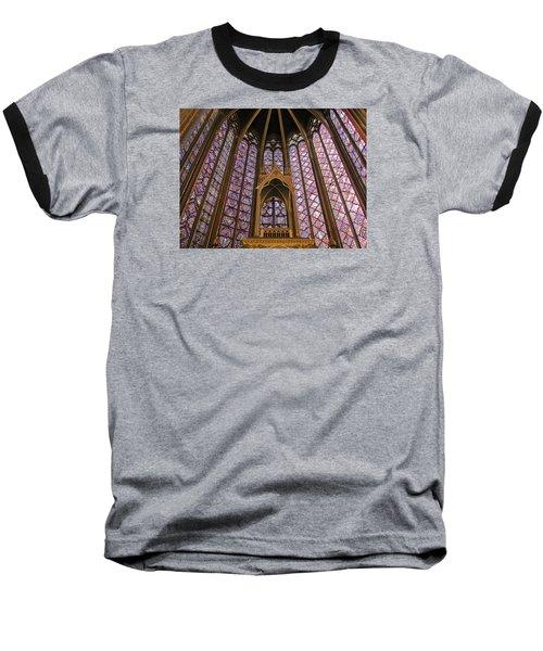 St Chapelle Paris Baseball T-Shirt
