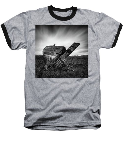 St Cyrus Wreck Baseball T-Shirt