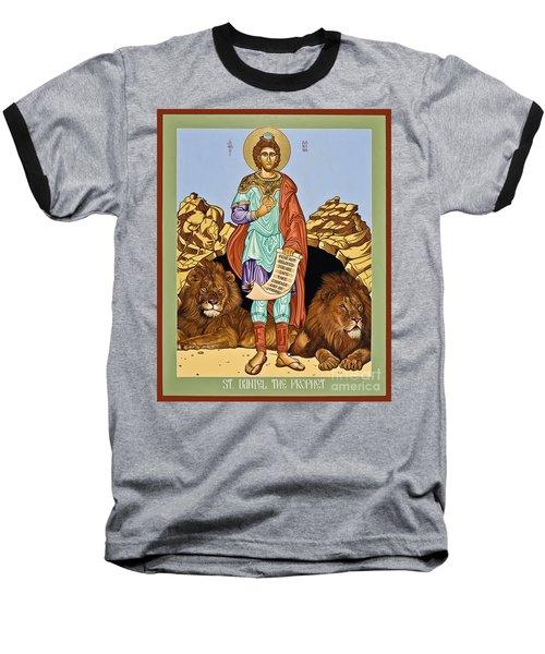 St. Daniel In The Lion's Den - Lwdld Baseball T-Shirt