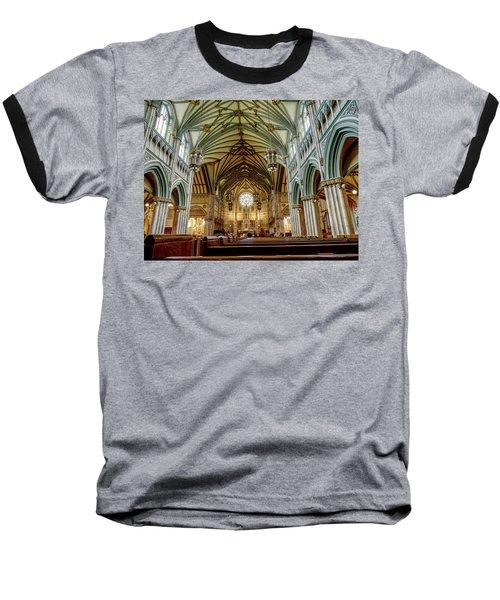 St Dunstan's Cathedral  Baseball T-Shirt