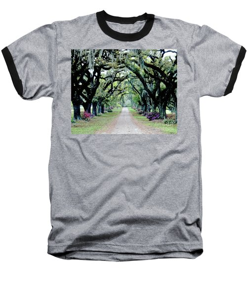 St Francisville Plantation Baseball T-Shirt