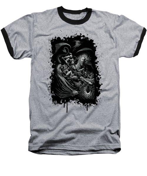 St. George And Dragon T-shirt Baseball T-Shirt