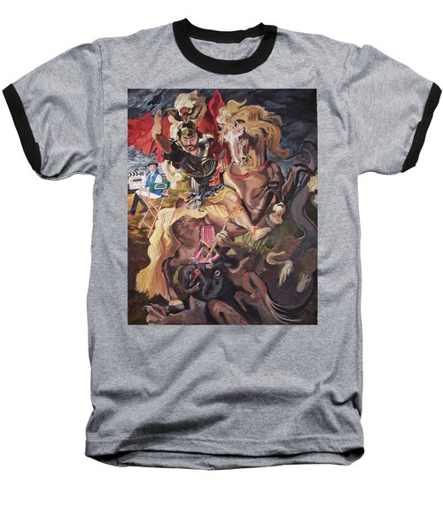 St George And The Dragon Baseball T-Shirt
