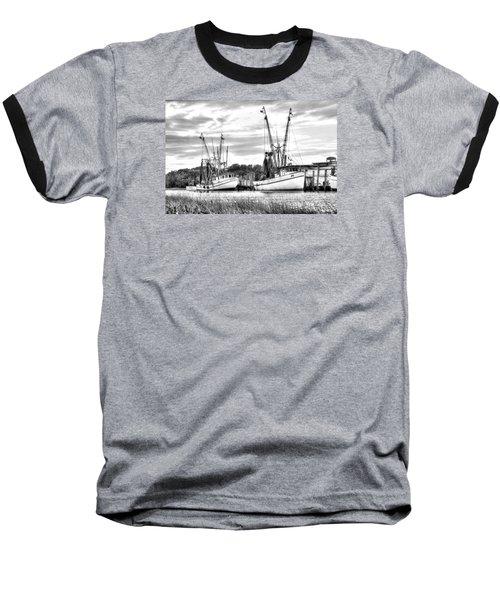St. Helena Shrimp Boats Baseball T-Shirt