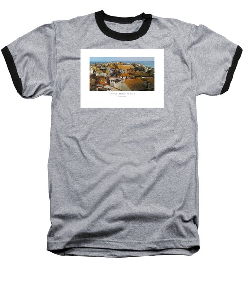 St Ives - From The Tate Baseball T-Shirt