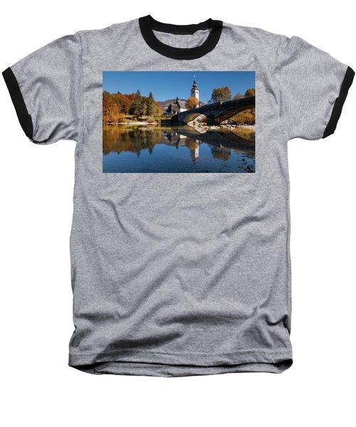 St. John The Baptist On The Lake Bohinj Baseball T-Shirt