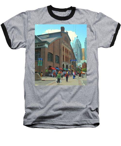 St Lawrence Market Baseball T-Shirt