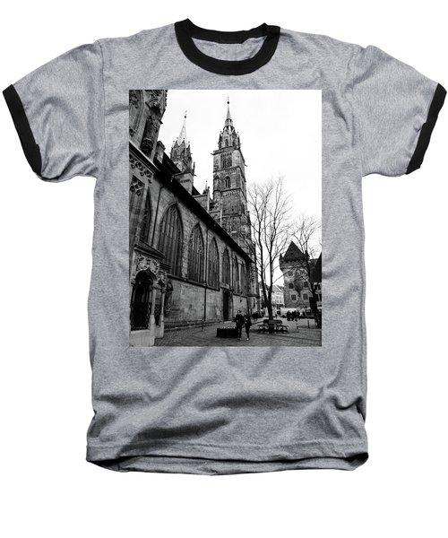 St. Lorenz Cathedral Baseball T-Shirt