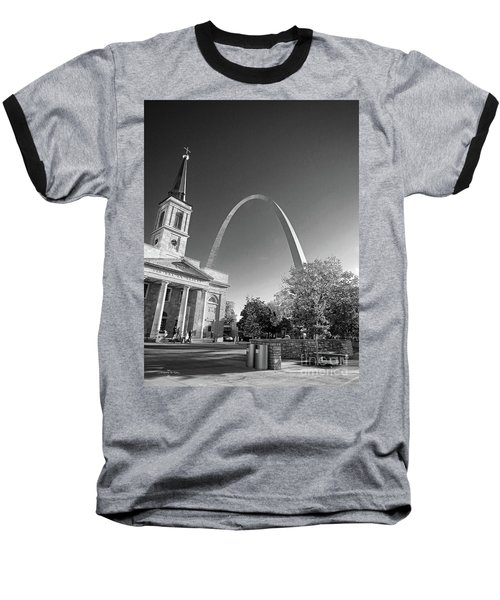 St. Louis Arch Baseball T-Shirt