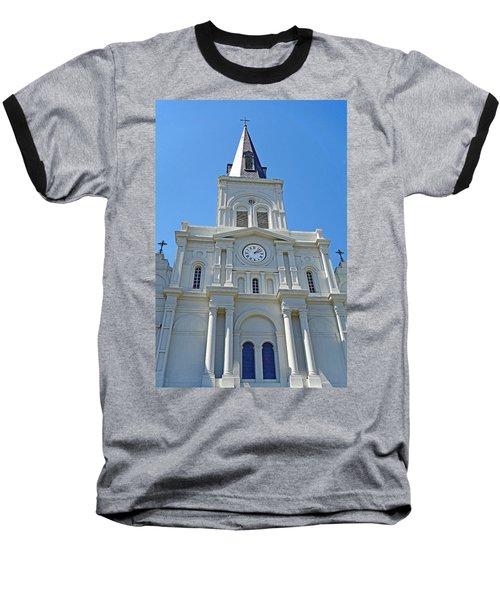 St. Louis Cathedral Study 1 Baseball T-Shirt