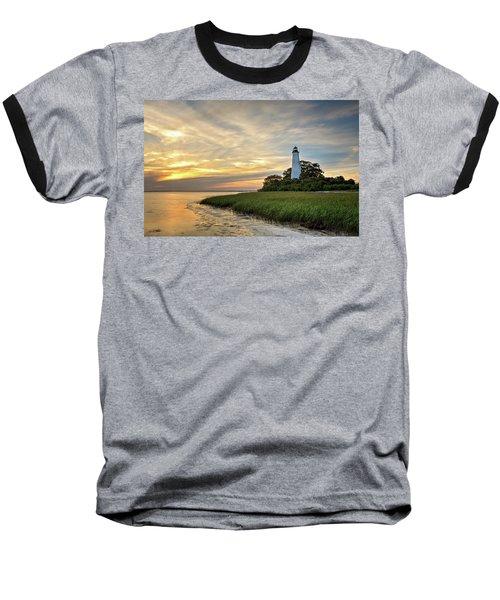 St. Mark's Lighthouse Baseball T-Shirt