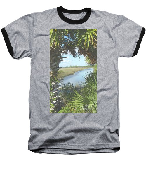 St. Mark's Marshes Baseball T-Shirt