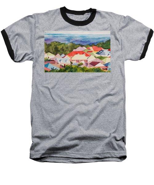 St. Martin Rooftops Baseball T-Shirt