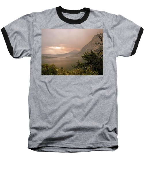 St Mary Lake In The Smoke Baseball T-Shirt